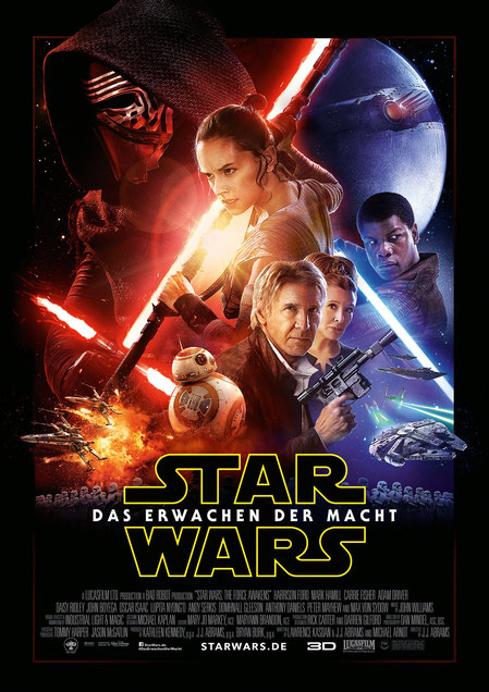 Star Wars 7 - Das Erwachen der Macht - Lucasfilm - Disney - kulturmaterial - Plakat - Poster