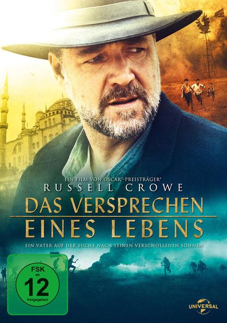 Das Versprechen eines Lebens Blu-ray DVD - Russell Crowe - Universal - kulturmaterial