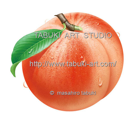白桃水滴 RD13513