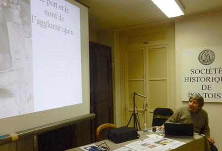 Didier Vermeersch, conservateur territorial du patrimoine,  maître de conférences en histoire antique et archéologie