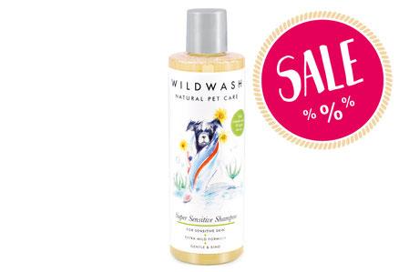 Hundeshampoo natürlich sensitiv