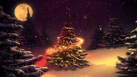 Hiver Noël. Illustration gratuite.