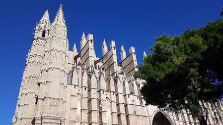 Crédit photo D.lavagne  Cathédrale de Palma de Mallorca