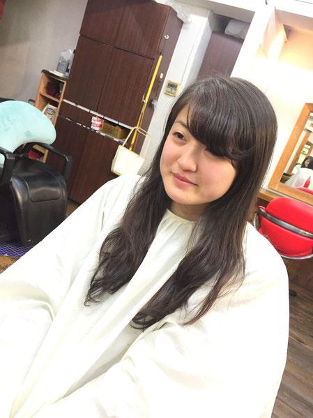 【横浜・日吉・菊名・美容室】前髪カットはただ切るだけでなく可愛くなれない・・・ワンポイントアドバイスが最も大事