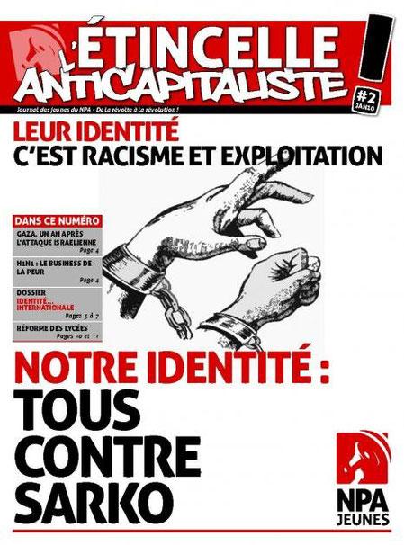 Journal des Jeunes du NPA   N° 2 janvier 2010