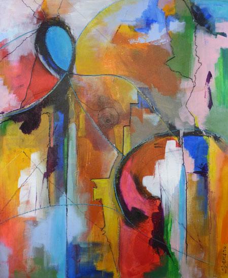 Wind - Acrylique 90 x 60 cm @ Tous droits réservés Sylvain Demers 2016- Price on request/ prix sur demande