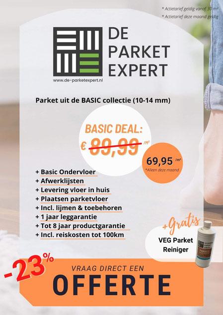 Flyer Basic Parket Deal