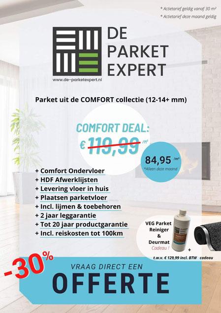 Flyer Comfort Parket Deal