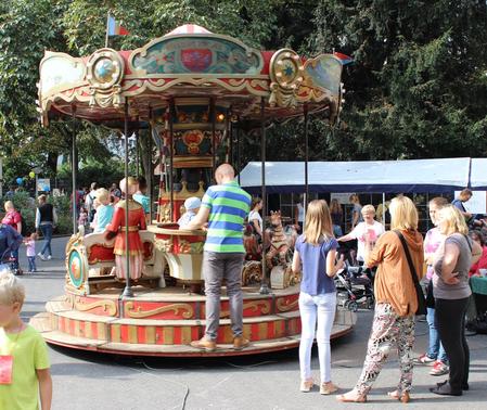 Vor allem für die kleinen Besucher wartet beim Fest des Kastanienhofs jede Menge Abwechslung.