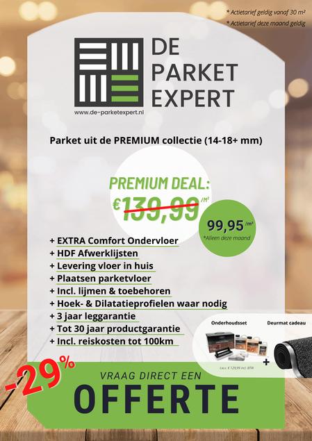 Flyer Premium Parket Deal
