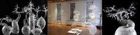 Pedrosa Crestani CCAA Studioglas glaskunst glasgalerie glassart blownglass handblown kunsthandwerk unikat collect köln cologne angewandt kunst sammlung ausstellung trimetall paperweight briefbeschwerer exhibition verresoufflé galerieduverre interiordesign