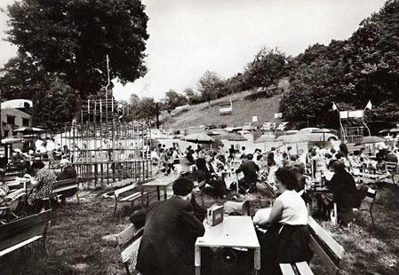 La vieille Auberge fin des années 1950