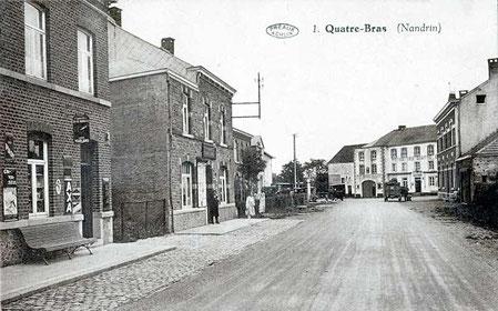 La route de Huy vers Quatre-Bras 1932