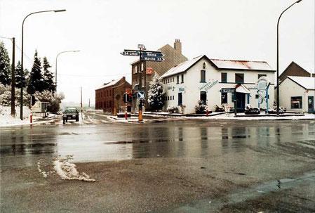 Le carrefour des Quatre-Bras en 2001