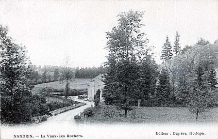 La vaux Les Roches Noires 1913