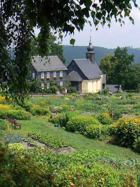 Der Dorf-Gemeinschaftsgarten von Steinbach a.d.Haide