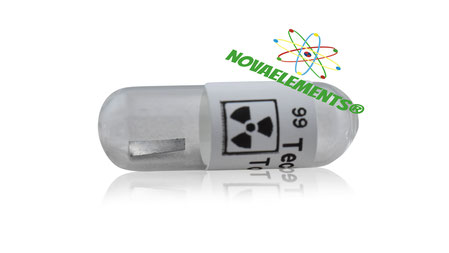 absolutely rare technetium metal in ampoule, only from novaelements.com