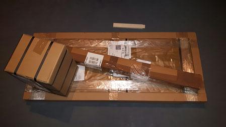Ihr Paket ist angekommen.