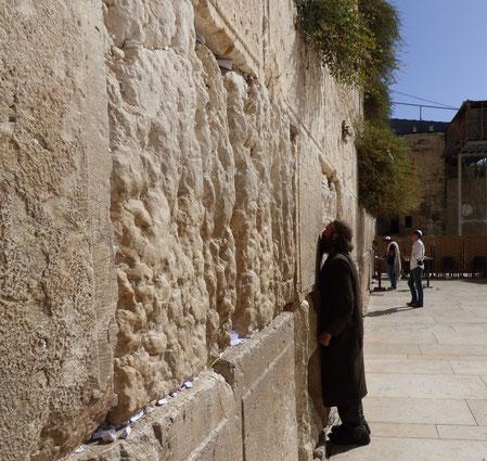 Молящийся у Стены
