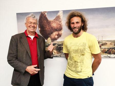 Gerhard Polt und Toninho Dingl