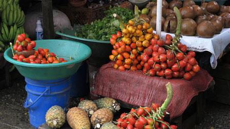 Markt in Quibdó, Kolumbien