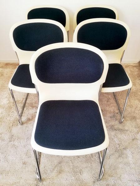 fauteuils / chauffeuses Thonet modèle Boomerang vintage