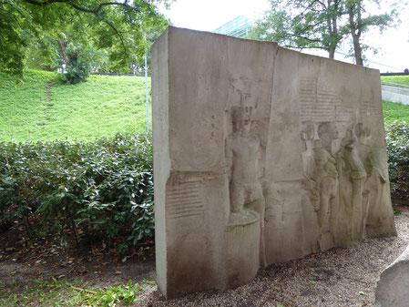 Nijmegen - Billenniummonument - Raf Verjans - Plaatsing in 1987