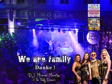 *Funky Flash* Augsburger Sommernächte 2019, Hotel Steigenberger Drei Mohren