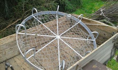 Dies ist die Nestgrundlage welche von Herrn Loskarn besorgt wurde.
