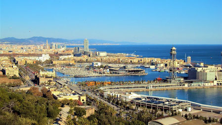 Placa de l'Armada_Barcelona Aussichtspunkt_Empfehlungen von Barcelona by locals