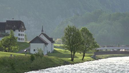Kapelle im Moutatal