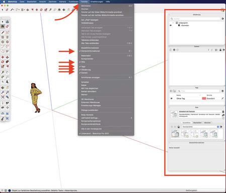 SketchUp Szenografie Theater Bühnenbild 3D CAD