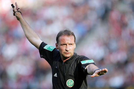 Lutz Wagner bei einem seiner Bundesliga-Spiele | Foto: lutzwagner.net