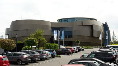 ESO Supernova Planetarium und Besucherzentrum von außen München