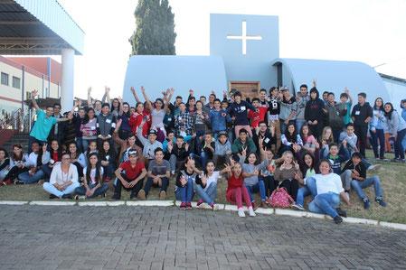 Encontrão em Curitibanos-SC