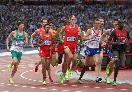 Andreas Vojta bei den Olympischen Spielen 2012 in London (Foto: z.V.g.)