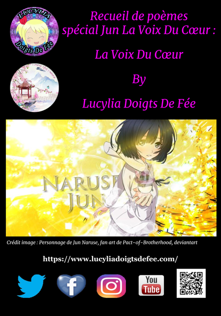 couverture du recueil spécial Jun La Voix Du Coeur