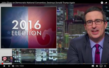 John Oliver über die Parteikongresse in den USA