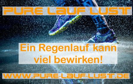 Laufen im Regen kann heftige Motivationsschübe auslösen! Probiere es aus und plan ein Lauf im nächsten Regen ein!