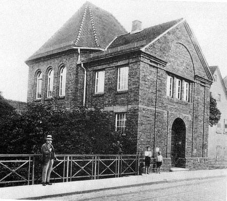 Eberstädter Synagoge / Foto: Stadtarchiv