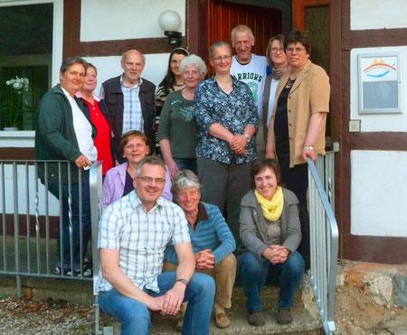 Mitglieder und Freunde des Brückenwege e.V.