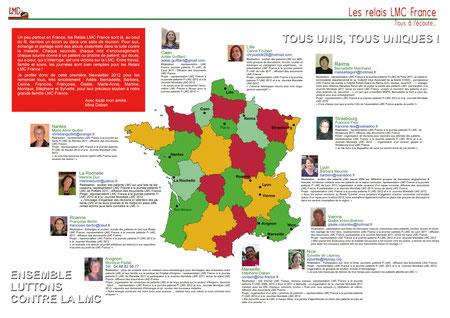 Relais LMC France leucemie leucémie myeloide myéloïde chronique