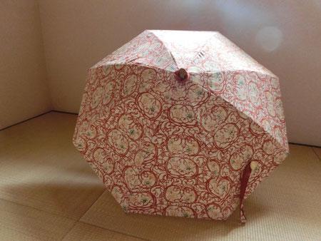 形見分けの着物や思い出の布で作るオーダーメイド日傘