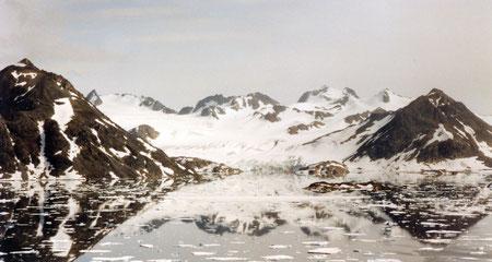 Grönland Spiegelung