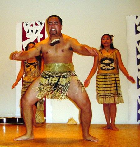 Māori, Haka-Tanz