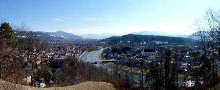 Bad Tölz, vom Kalvarienberg aus gesehen