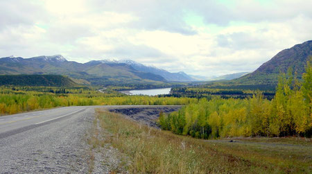 Alaska Highway near Watson Lake