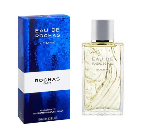 ROCHAS - EAU DE ROCHAS HOMME : VAPORISATEUR EAU DE TOILETTE 100 ML
