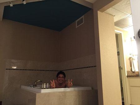 お風呂にはちゃんと入っておきました。ちょっと恥ずかしいな・・・