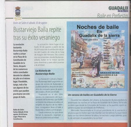 PROGRAMA DE FIESTAS DE GUADALIX AÑO 2008